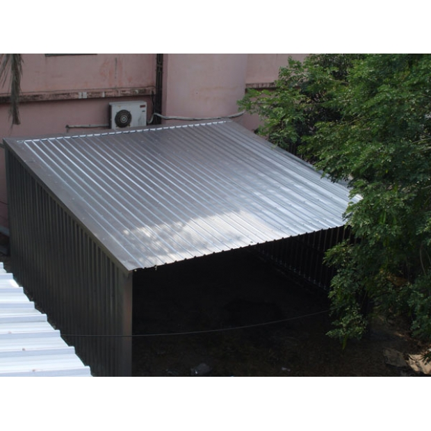 嘉義鹿草雞舍(屋頂加蓋)